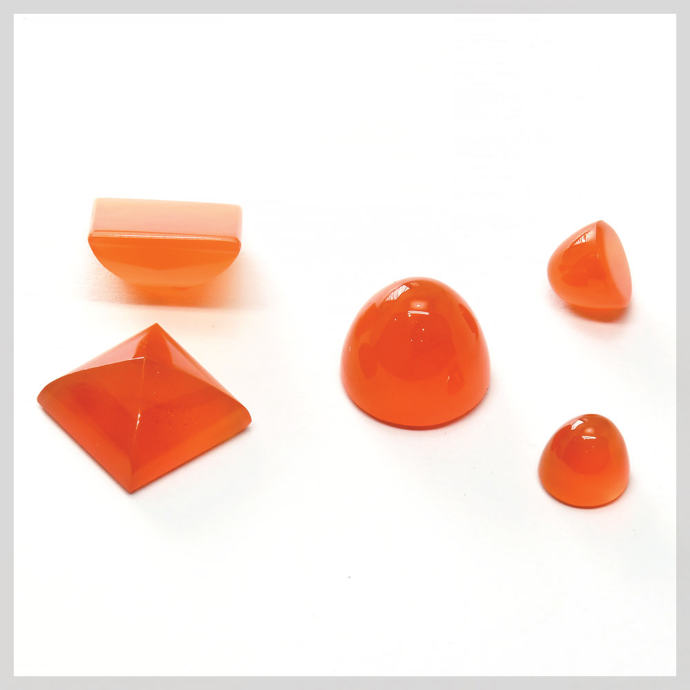 Cabochons for bezel setting and prong setting jewellery making projects